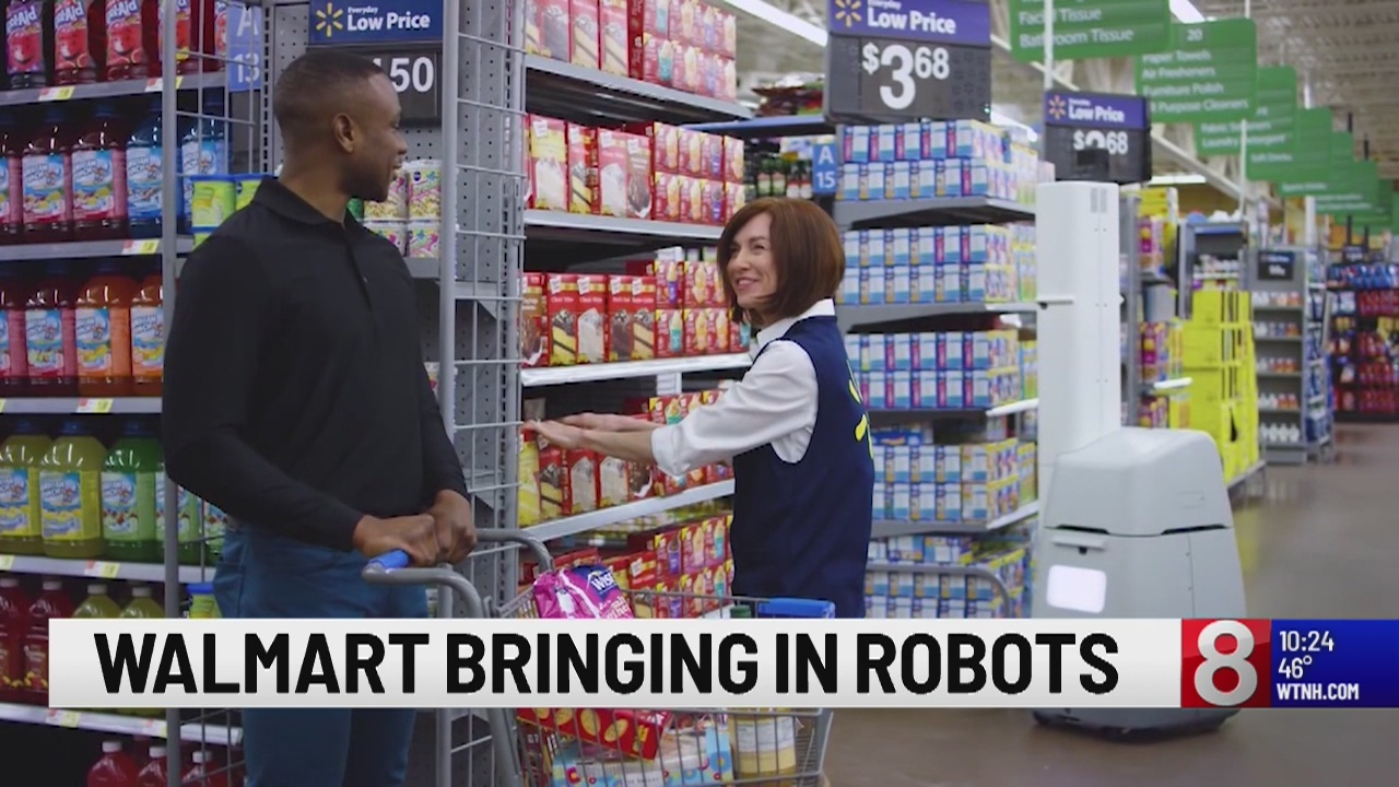Walmart to add thousands of robots to its stores next year
