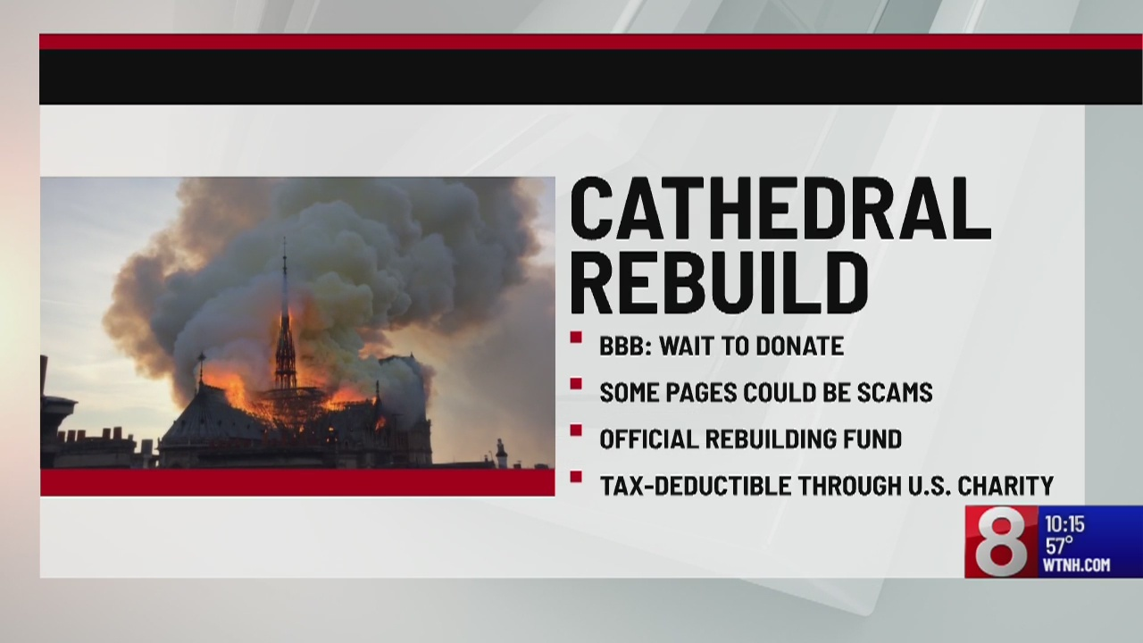 Why you should 'wait before you donate' towards helping the Notre Dame Cathedral