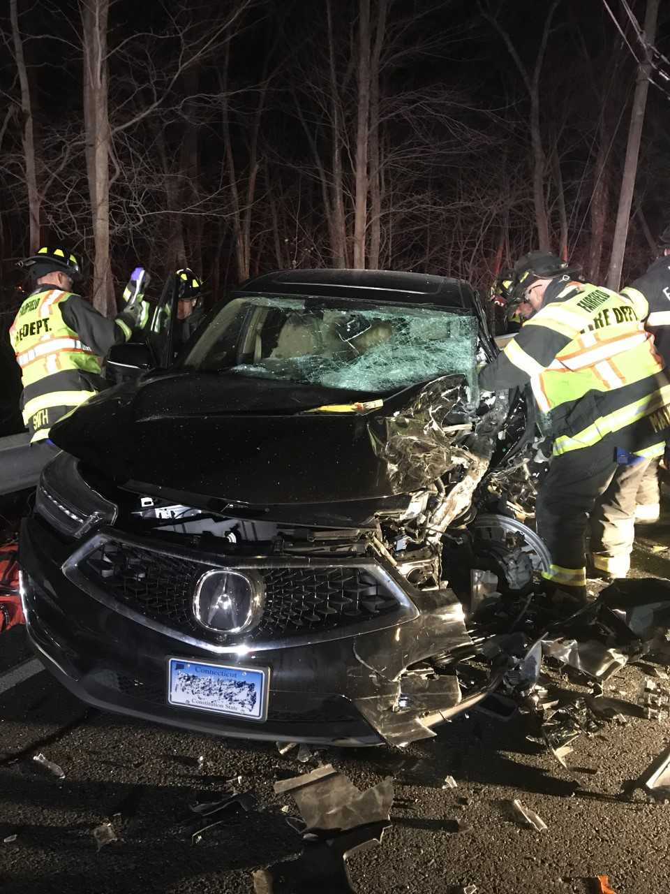 Fairfield firefighters, police rescue victims in late-night