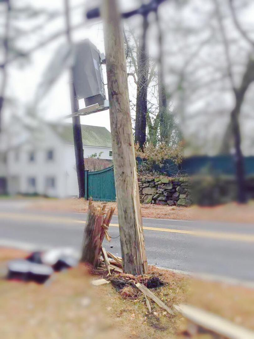 Guilford utility pole crash 5_21.jpg