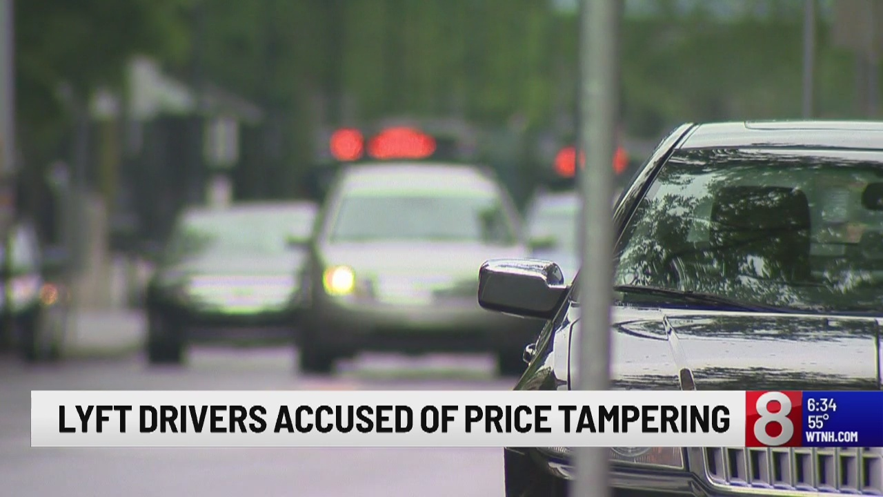 Lyft drivers accused of price tampering