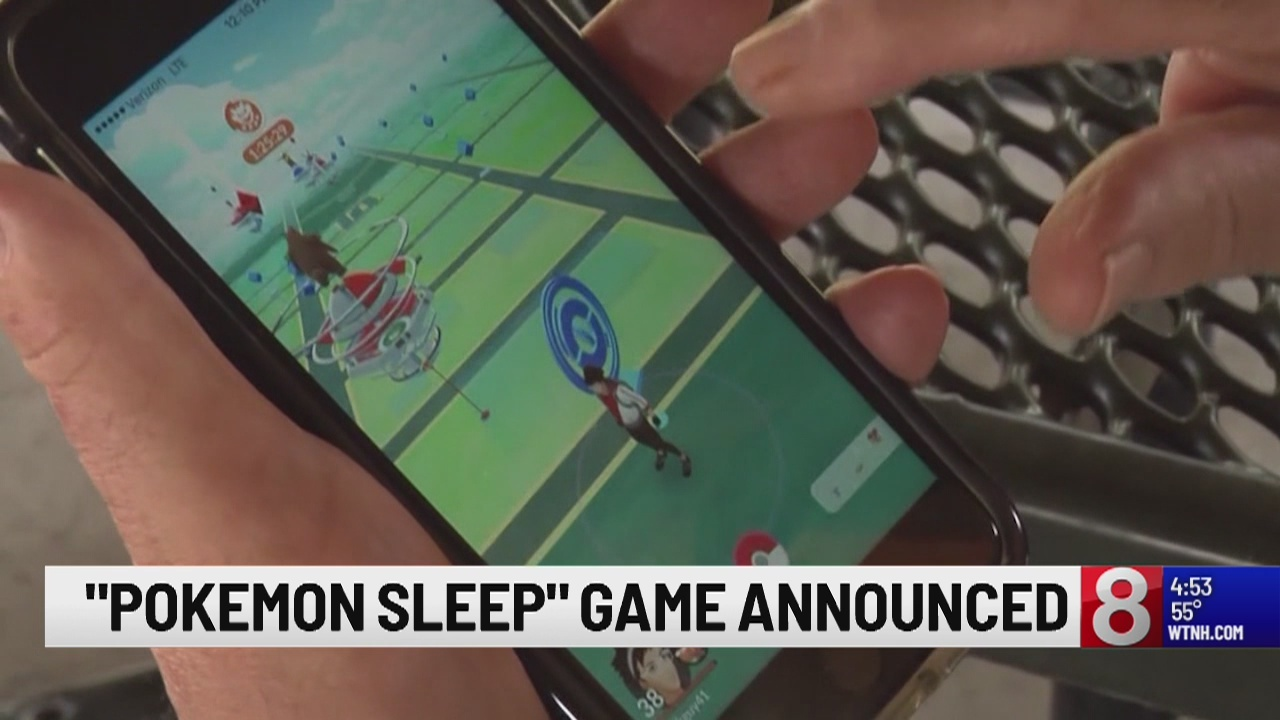 Pokémon Sleep gaming app announced