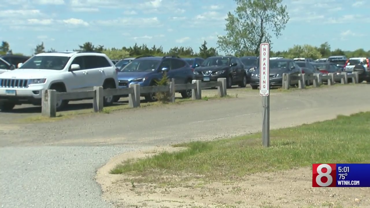 Several state parks fill to capacity on Memorial Day
