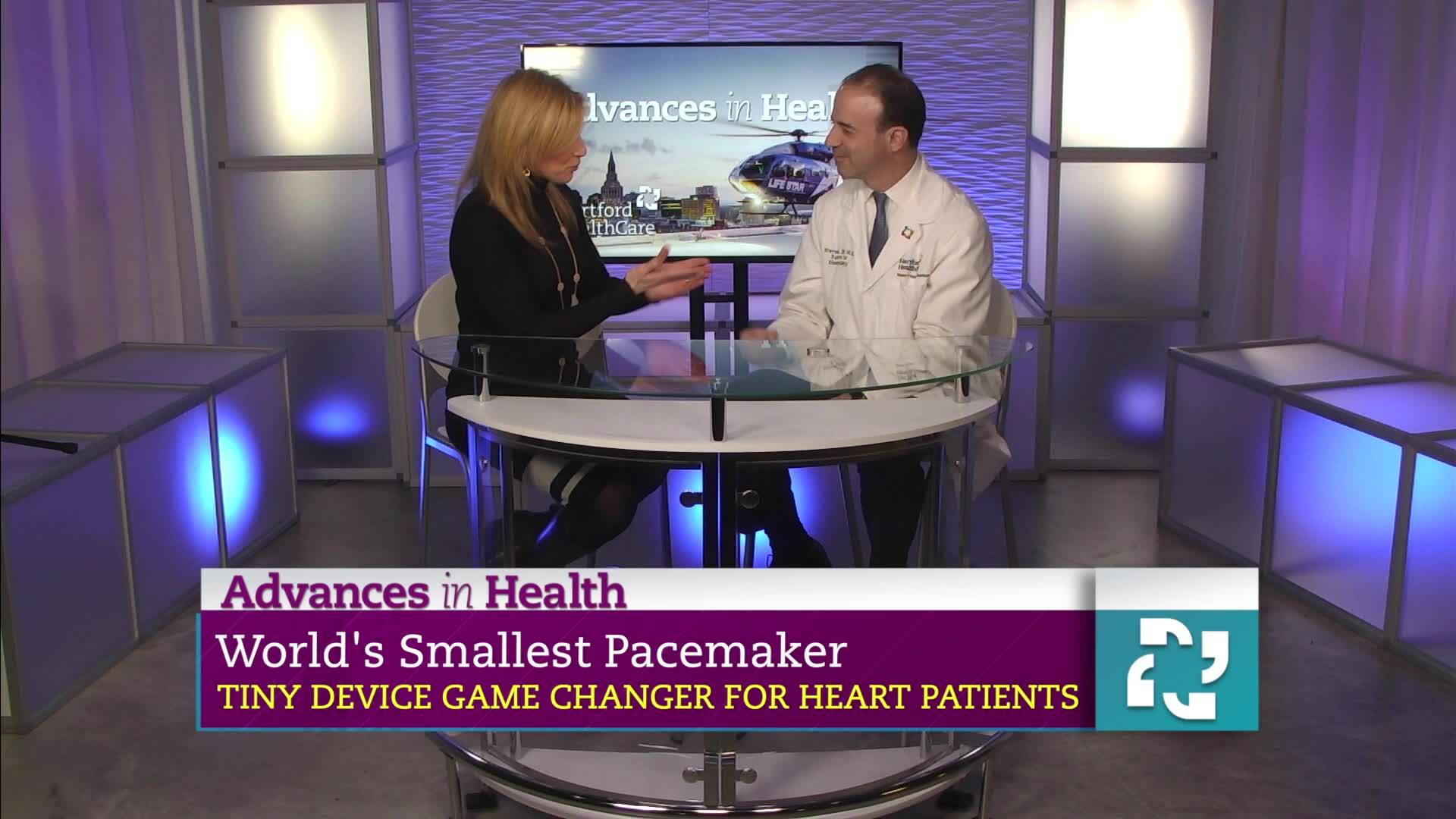 Advances in Health: World's Smallest Pacemaker