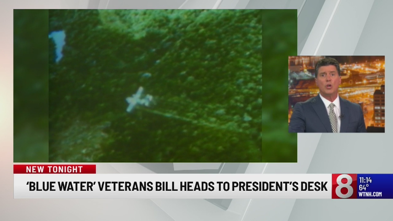 'Blue Water' Veterans bill heads to President's desk