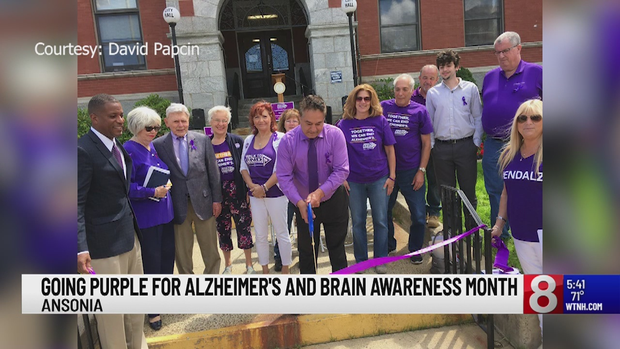 Connecticut going purple for Alzheimer's and Brain Awareness Month
