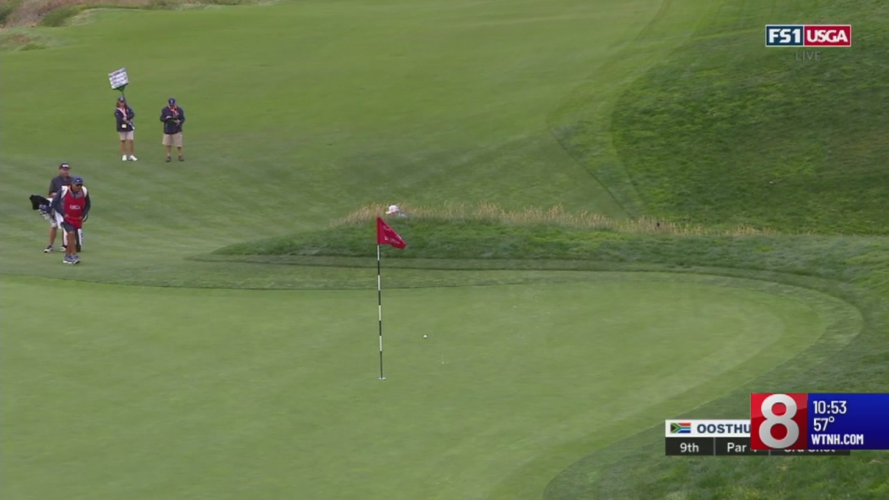 Day One of the US Open; Justin Rose leads the way to Travelers