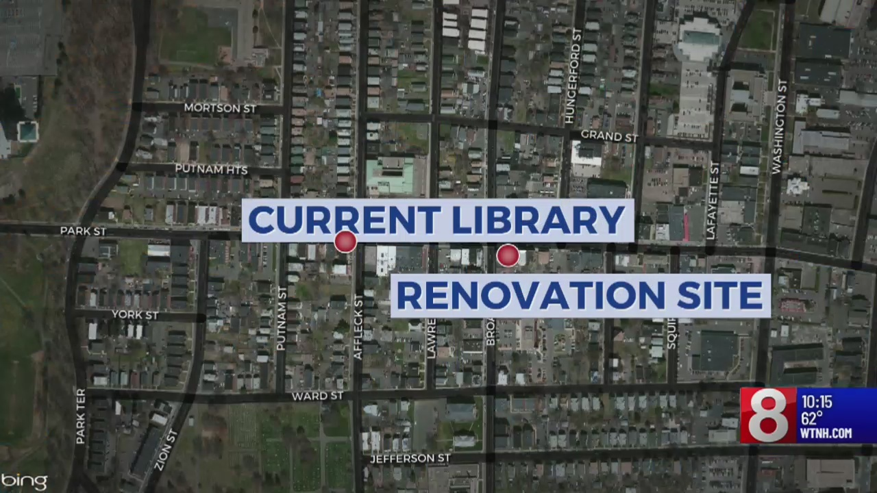 New library coming to downtown Hartford