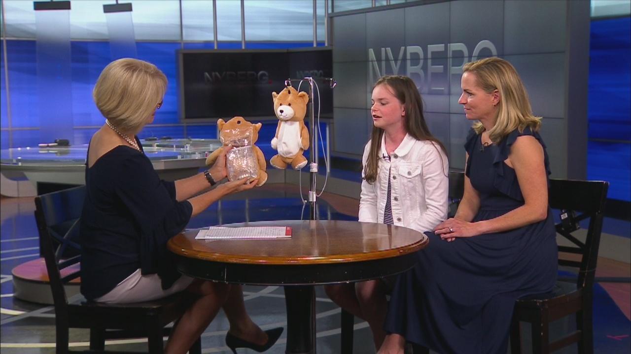 Nyberg: ITP patient creates 'Medi-Teddy' to make IV medicine seem less frightening