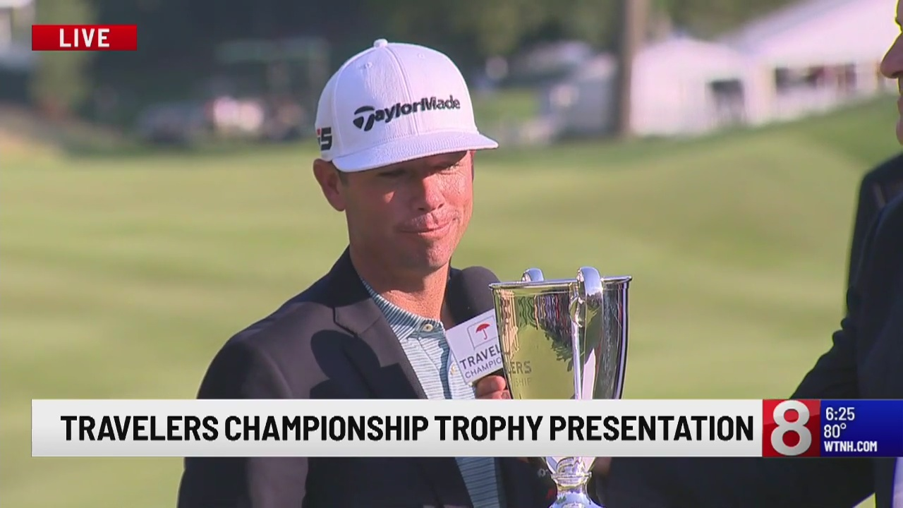The Final Round of the Travelers Championship, Reavie reigns as champion
