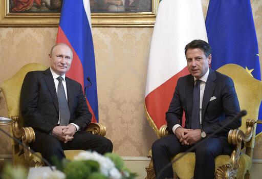 Giuseppe Conte, Vladimir Putin
