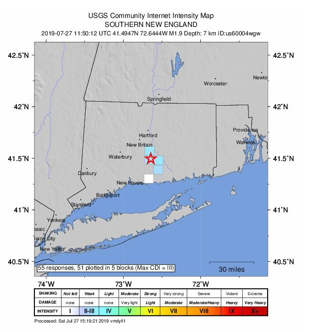 Small earthquake confirmed in Durham, Middletown | WTNH com