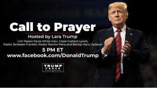 """Christian Leaders Participate in Online """"Call to Prayer"""" Event for Trump After Coronavirus Diagnosis"""