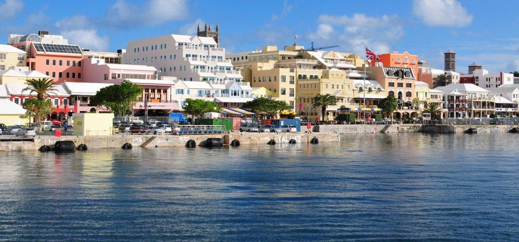 Paseo marítimo de las Bermudas Ha milton