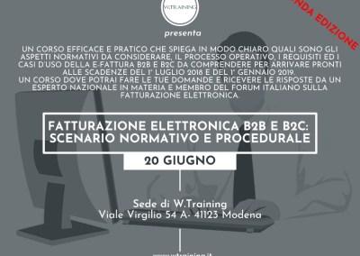 Fatturazione elettronica B2B e B2C: scenario normativo e procedurale – SECONDA EDIZIONE