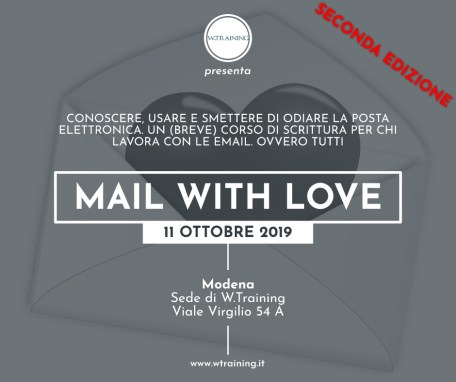 Mail with love – seconda edizione