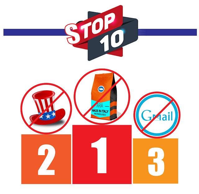 La STOP TEN delle micro imprese italiane che ostacolano l'ingresso nel mercato USA