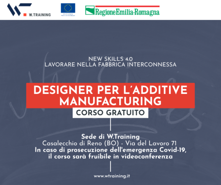 DESIGNER PER L'ADDITIVE MANUFACTURING