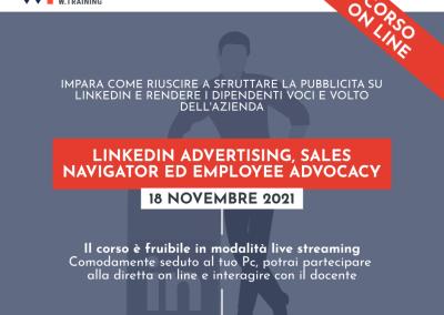 LINKEDIN ADVERTISING, SALES NAVIGATOR ED EMPLOYEE ADVOCACY