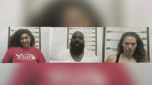 Belmont County Sheriff's Office arrests 3 in a hotel for