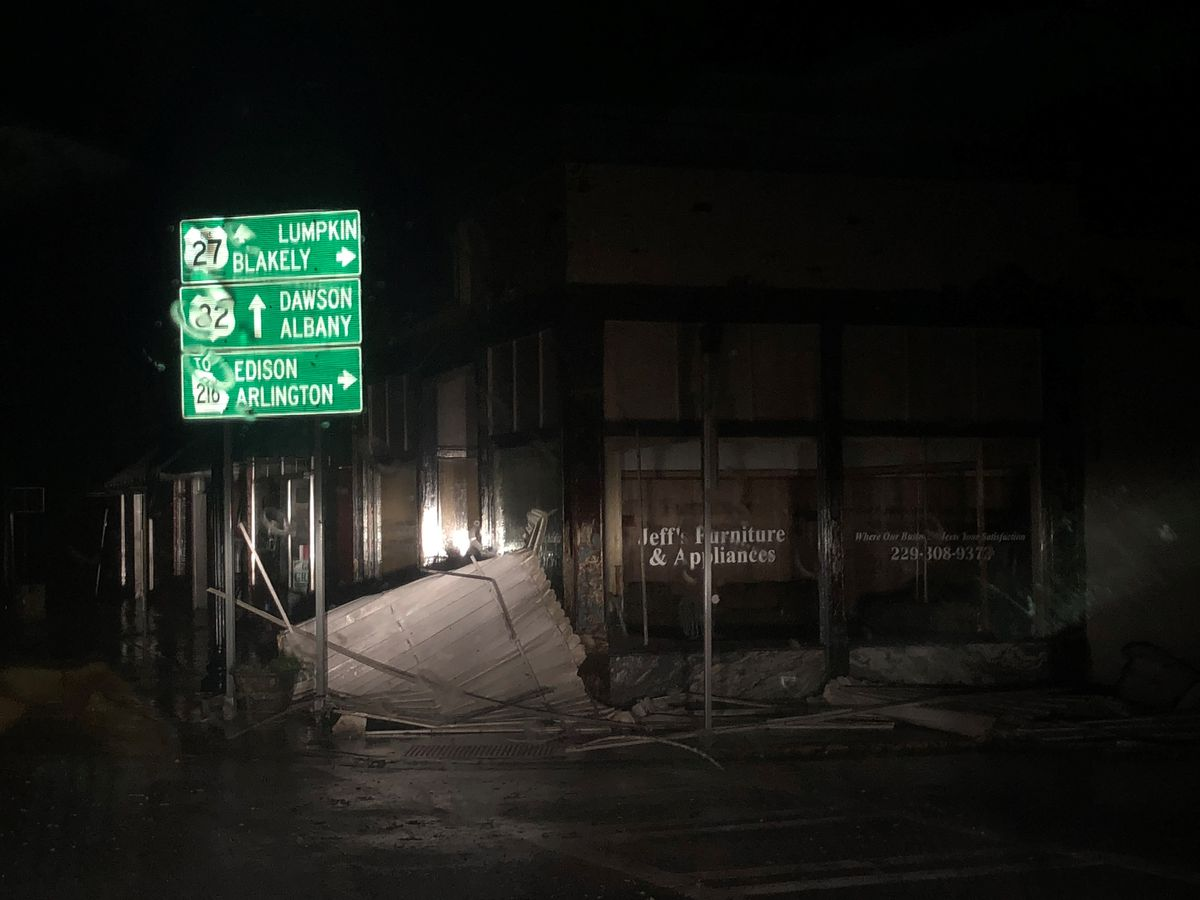 Impact of Hurricane Michael causes damage and power outages in the Chattahoochee Valley