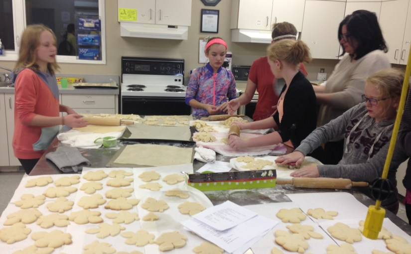 Youth Group – Brainstorming & Cookie Making