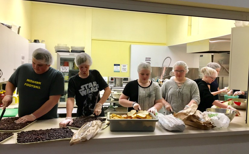 WUC Youth Group Volunteer at Soup Kitchen