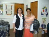 Uniforms donated to home based carers by Duchess - 25.09.09 011