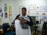 Uniforms donated to home based carers by Duchess - 25.09.09 013