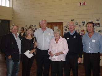 Norman & Sue Webster, Ian Bell, Lynn & Peter Terblanche & Gary Lees (Steenberg Golf Club)