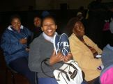 Westlake women receive new shoes - Wed 22 June 11 011