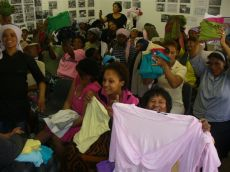 Common Ground church hands out clothes to Westlake women 021