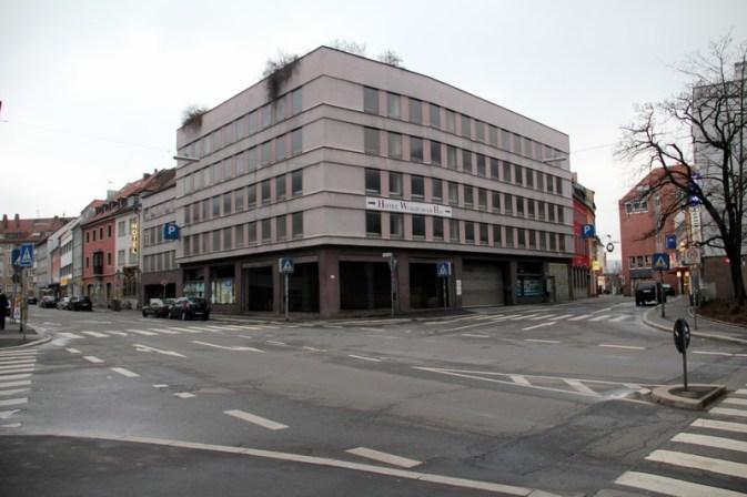 Parkhaus am Haugerkirchplatz