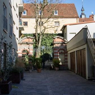 Hinterhof in der Sanderstraße