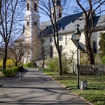 Die evangelische Kirche St. Stephan.