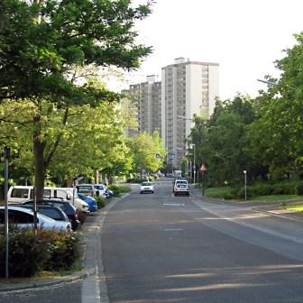 Straße in der Lindleinsmühle
