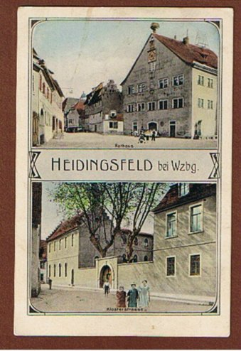 Heidingsfeld Klosterstraße und Rathaus