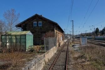 Alte Gleisanlagen am ehemaligen Ostbahnhof