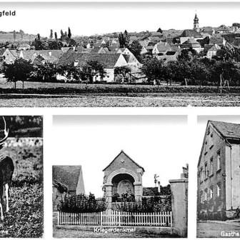 Historische Postkarte aus Lengfeld.