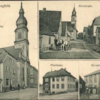 Historische Postkarte aus Lengfeld ohne Jahresangabe.