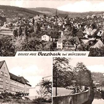 Gruß aus Versbach 1968.