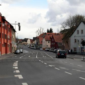 Ortskern von Versbach.