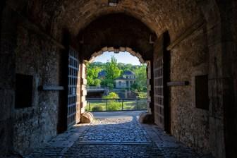 Blick durch das Zeller Tor.