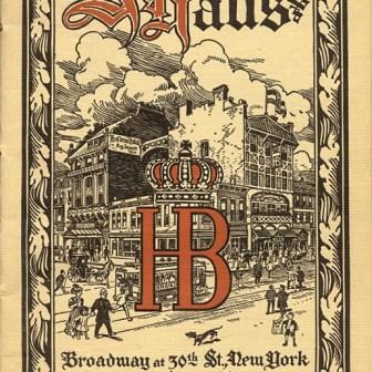 Das Bier aus Würzburg schaffte es damals schon bis auf den Broadway nach New York.