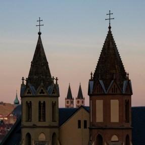 Dom, St. Burkard und Neumünster