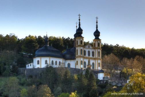 Das Käppele auf dem Nikolausberg.