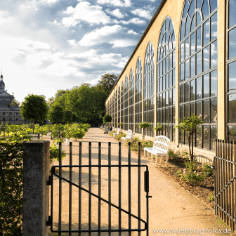 Orangerie im Hofgarten der Residenz.