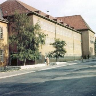 Die Goethe-Schule im Frauenland (heute Goethe-Kepler-Schule).