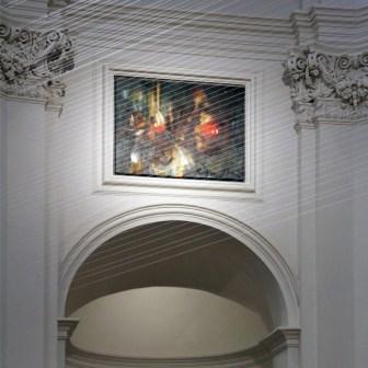 Blick in den prächtigen und renovierten Innenraum von Neumünster.