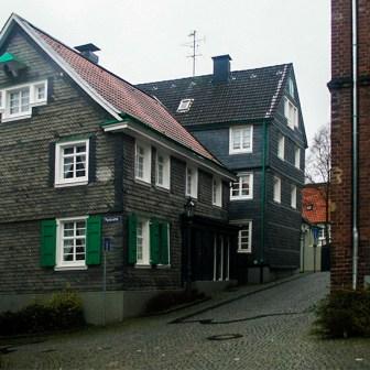Das Geburtshaus von Röntgen.